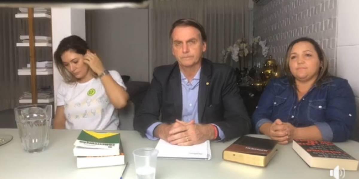Bolsonaro emite su primer mensaje como presidente electo de Brasil