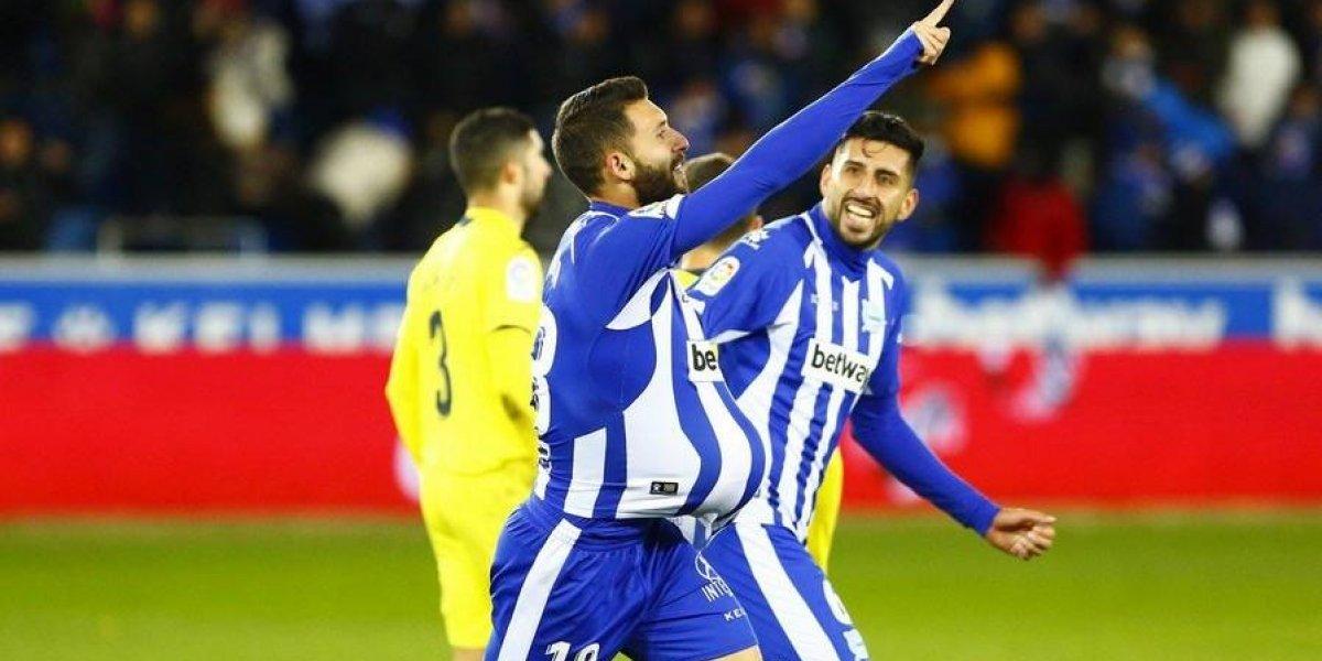 El Alavés de Maripán celebró en la agonía y es escolta de Barcelona en la Liga