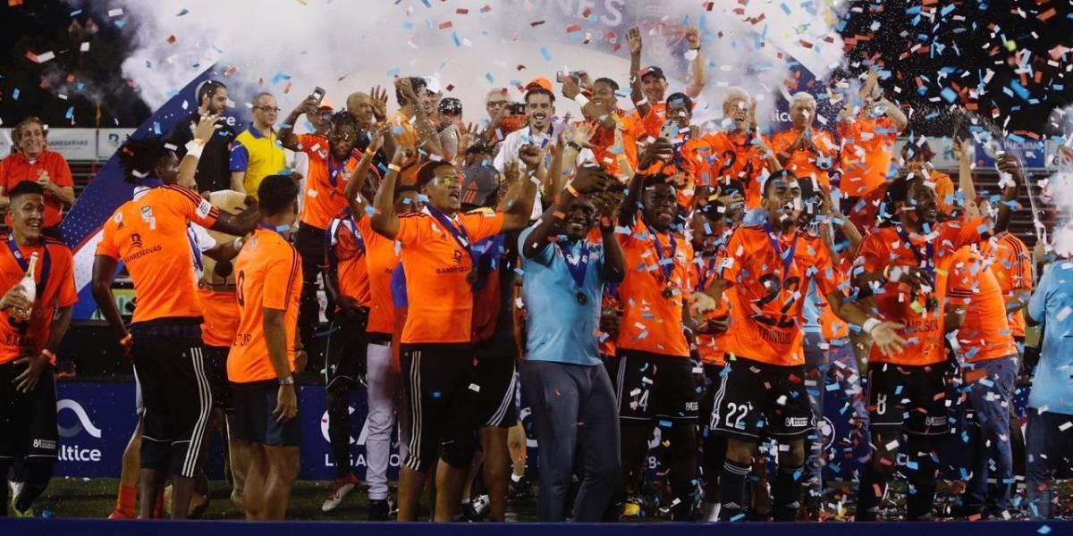 Cibao FC levanta la Copa de campeón del torneo de la LDF 2018