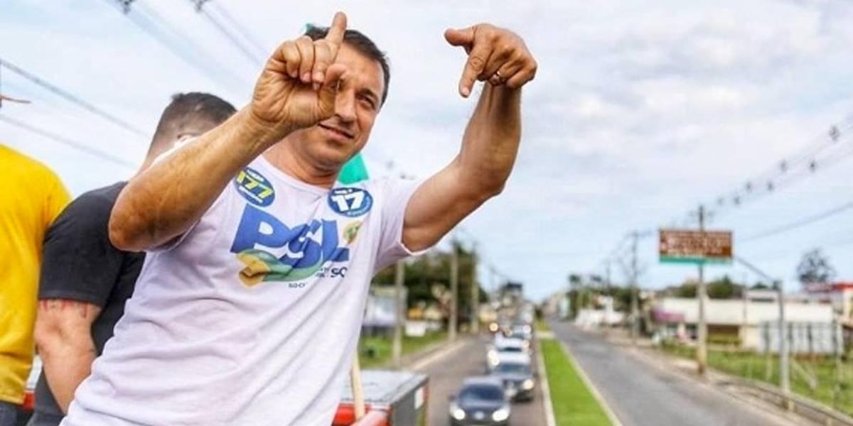 Comandante Moisés é eleito governador de Santa Catarina