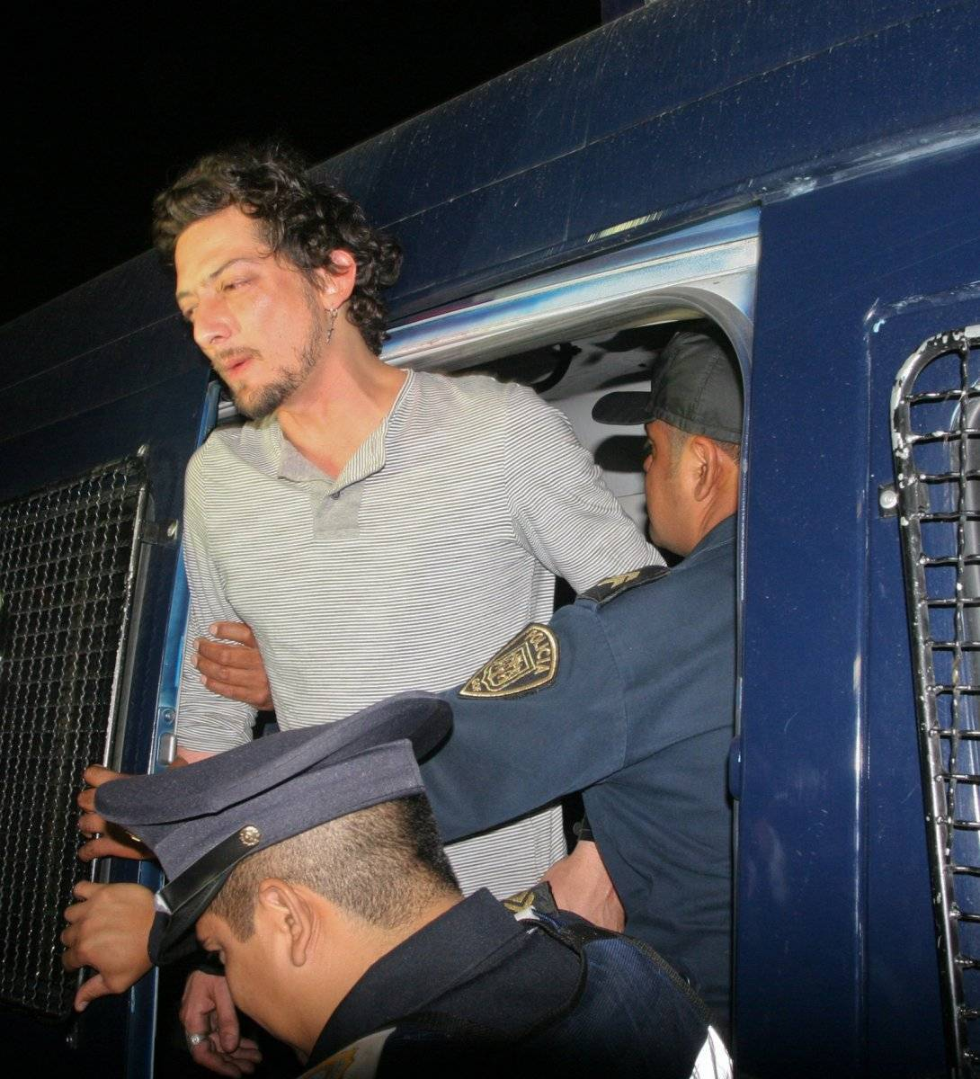 Leon Larregui, vocalista del grupo musical Zoe, fue detenido bajo los efectos de sustancias tóxicas y bebidas embriagantes. Foto: Cuartoscuro.