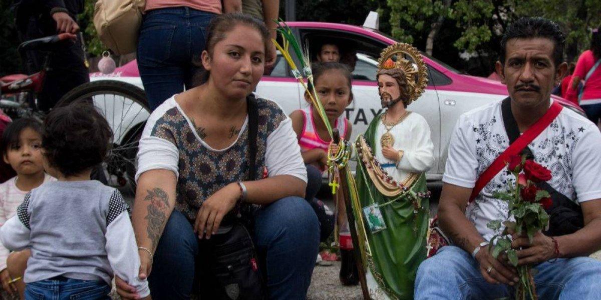 FOTOS: Así se vivió el festejo a San Judas Tadeo en México