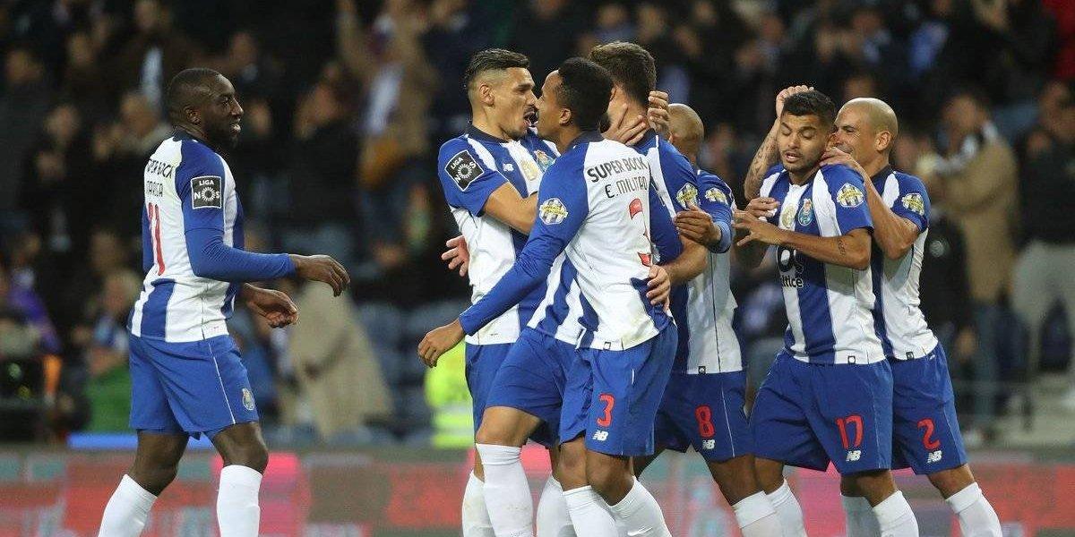 Herrera y Corona participan en la victoria del Porto