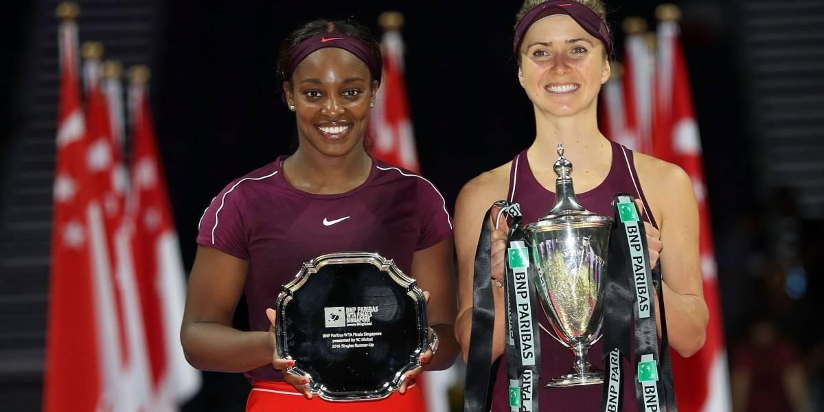Svitolina vence a Stephens y se corona en las finales de la WTA