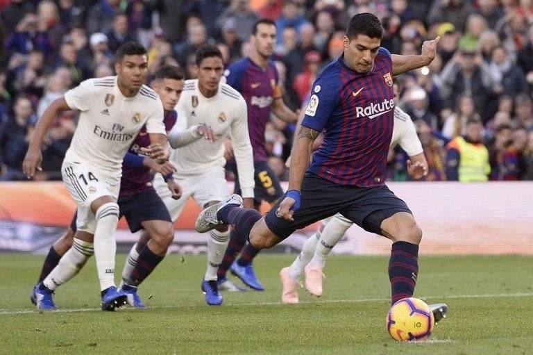 El golazo de Luis Suárez ante error de Sergio Ramos