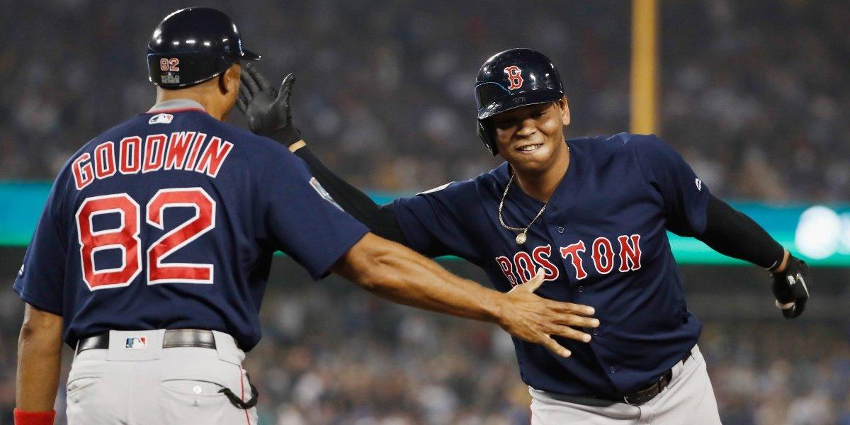 Red Sox doblega a Dodgers y queda a un triunfo del título