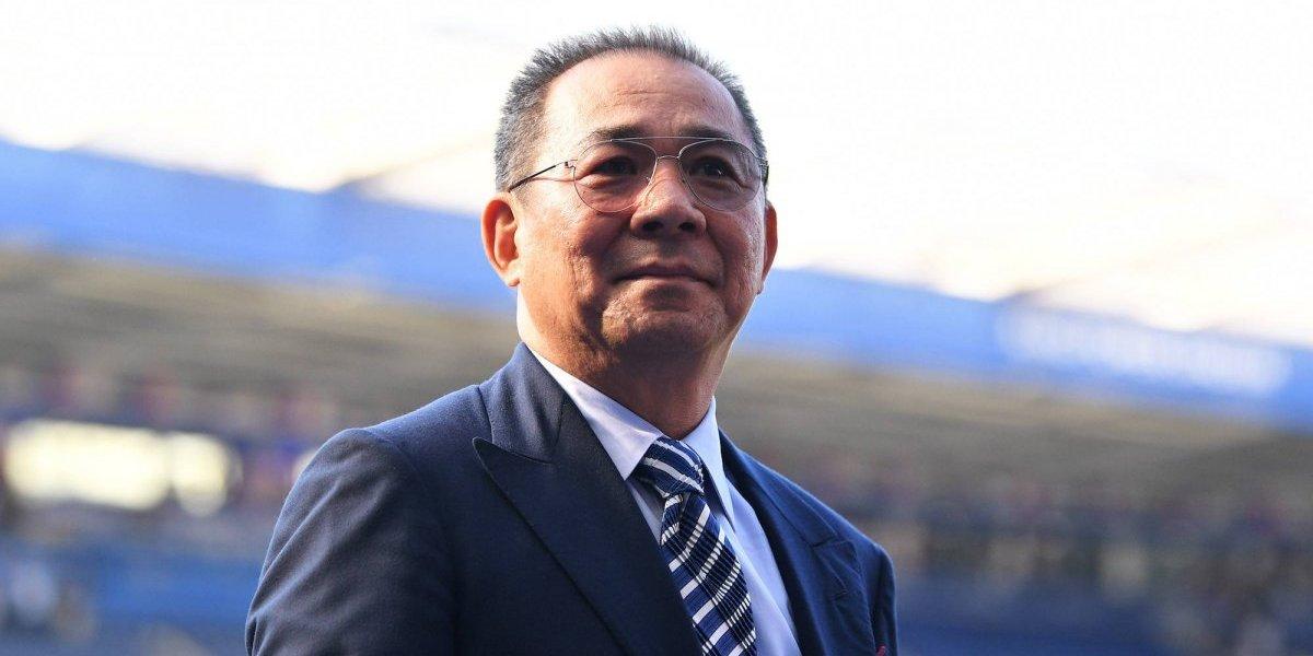 Leicester confirma fallecimiento de su dueño