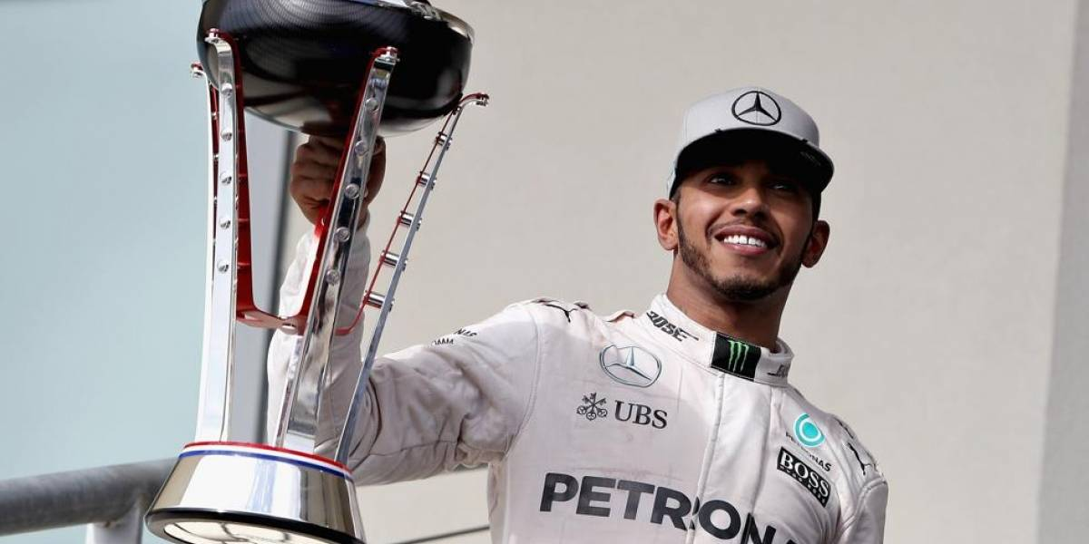 Lewis Hamilton se corona en la Formula -1
