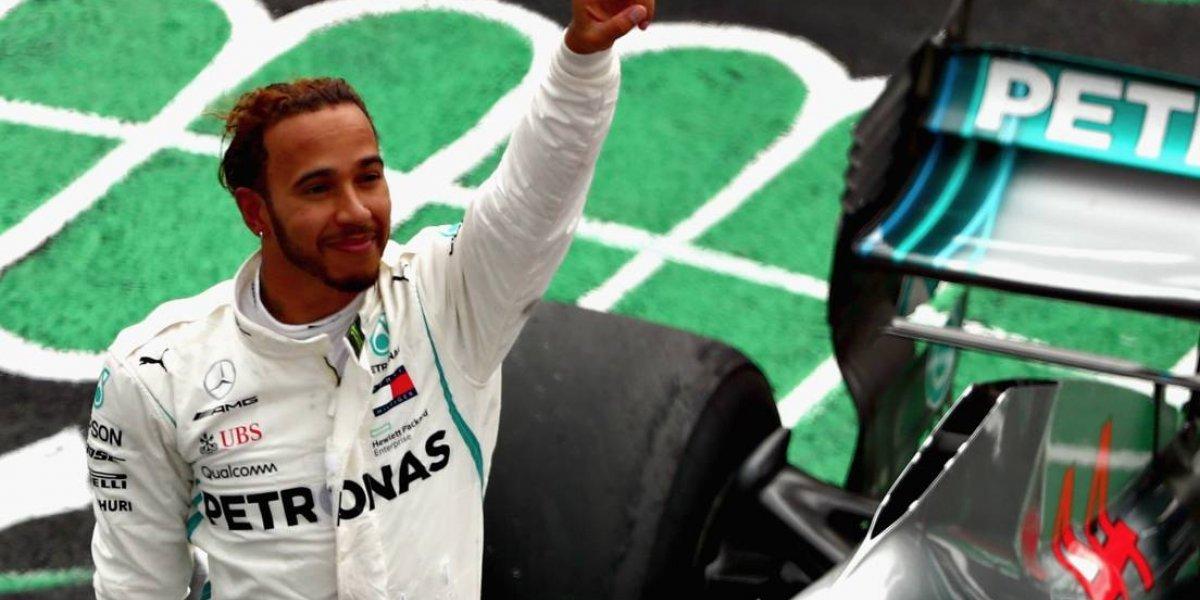 """Llegó el """"penta"""": Lewis Hamilton se queda con el mundial de Fórmula Uno"""