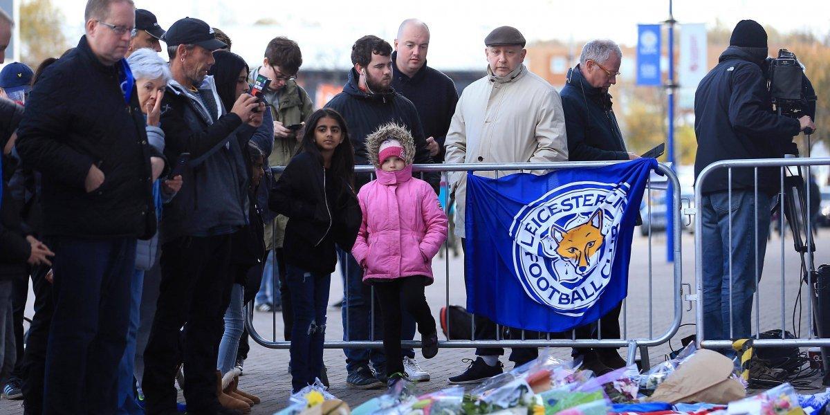Dueño del Leicester y su familia estaban a bordo del helicóptero que se desplomó