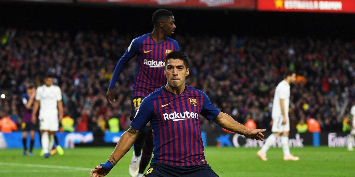Barcelona humilló al Real Madrid; Luis Suárez marcó un Hat-Trick