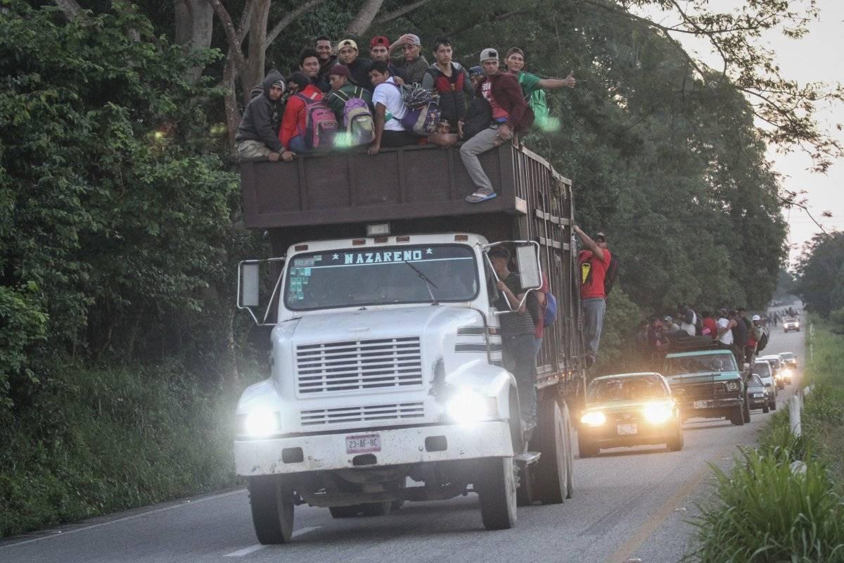 Caravana migrante Foto: Cuartoscuro