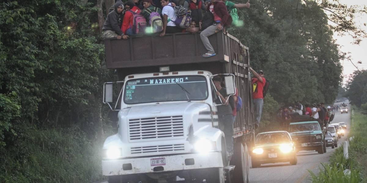 EU envía tropas a su frontera con México ante llegada de caravana migrante