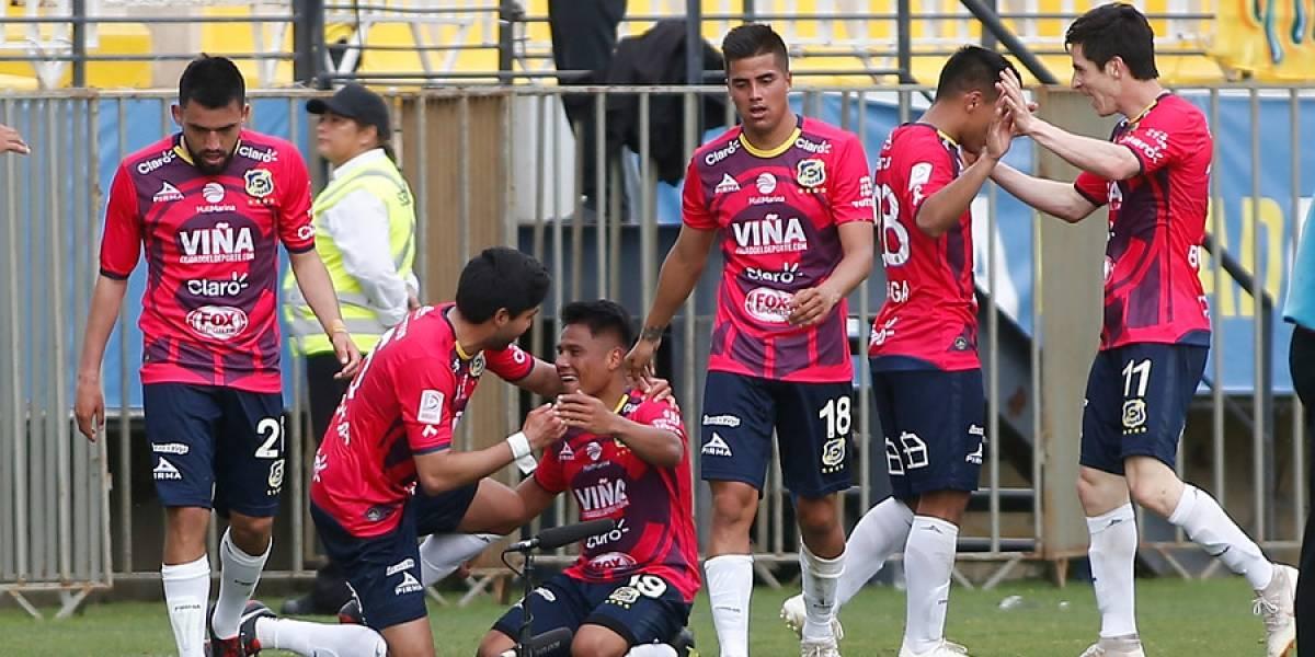 Everton mostró amor propio y logró un triunfo sobre Antofagasta que lo distancia de la zona roja