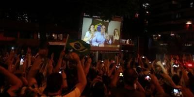 Bolsonaro - vitória - povo celebra