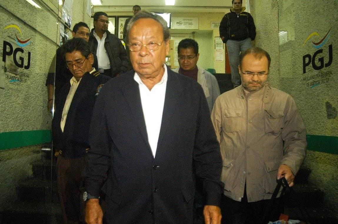 Jesús Silva Herzog, fue detenido en octubre de 2010.