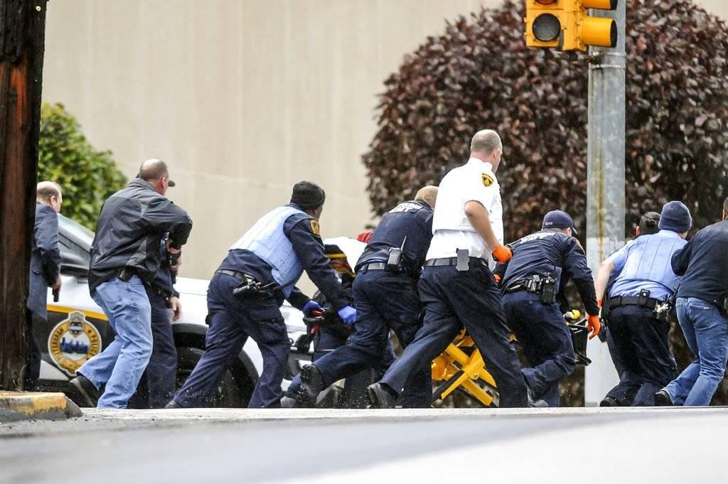 Masacre en templo de Pittsburg Foto: AP