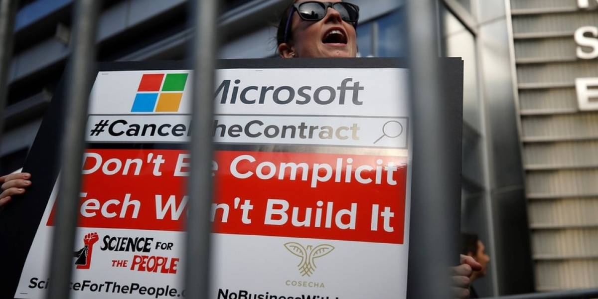 Como Amazon, Microsoft e outras empresas ganham milhões com políticas de Trump contra imigração