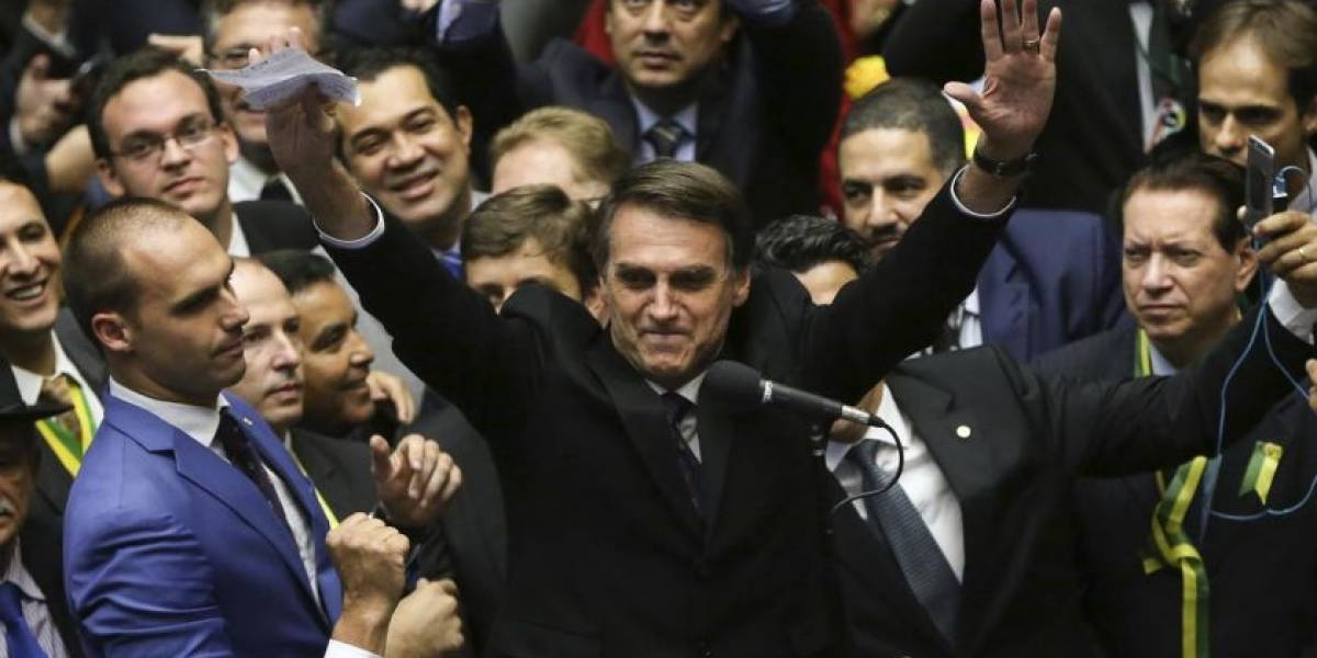Aceptó la invitación de Piñera: Primer viaje de Jair Bolsonaro será a Chile