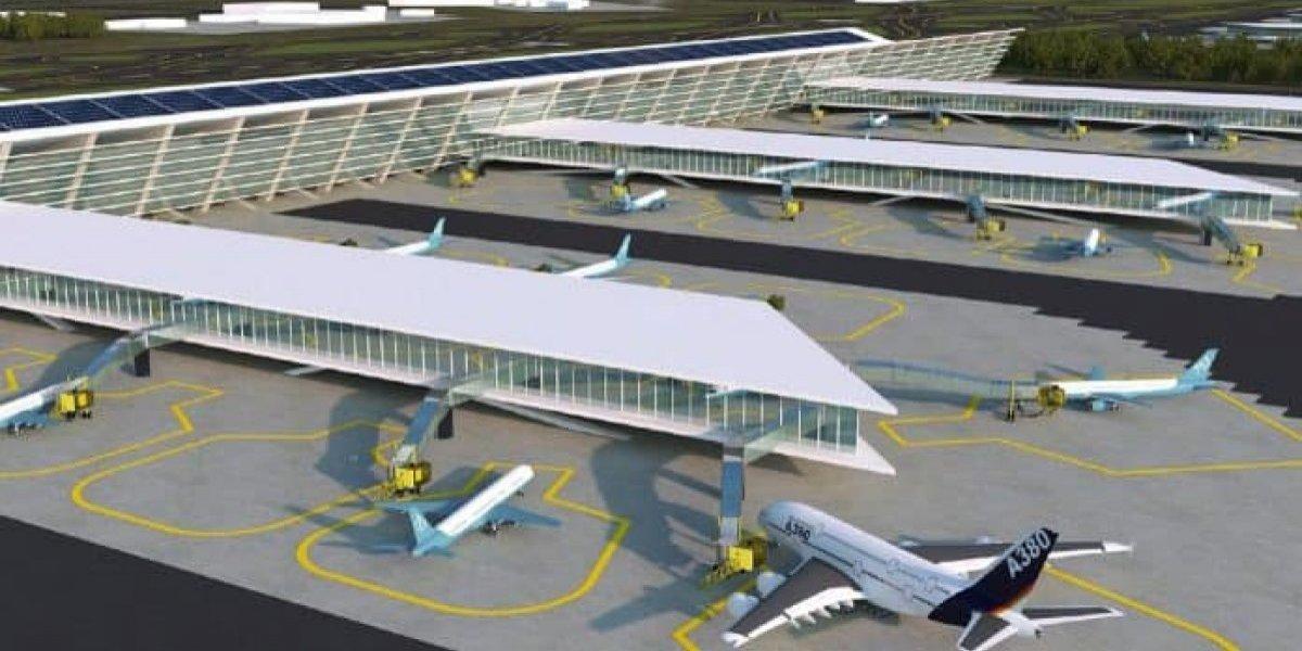 FOTOS: Así sería el nuevo aeropuerto de Santa Lucía