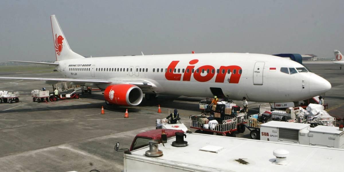 Tragedia en Indonesia: avión de Lion Air se estrella en el mar con 189 personas a bordo