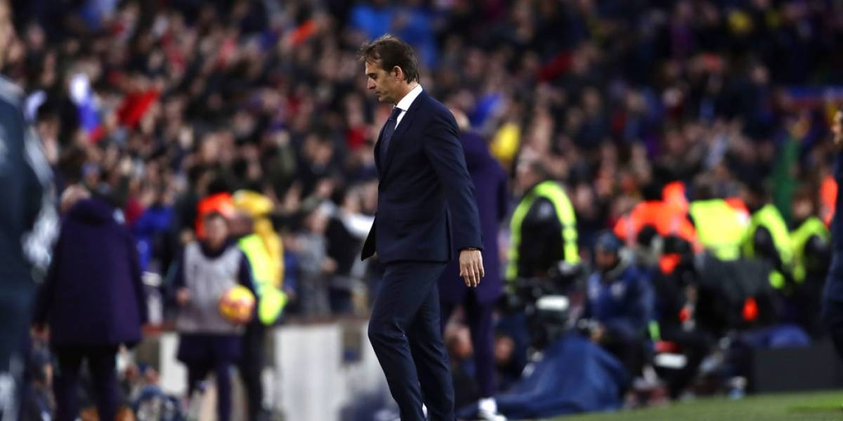 Real Madrid decide el futuro de Lopetegui tras fuerte derrota