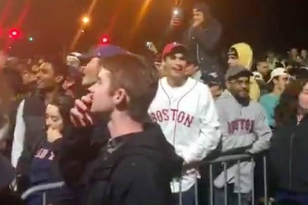 Fans boston