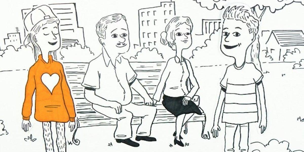 Campaña educativa pro diversidad sexual se toma las pantallas de la red de metro