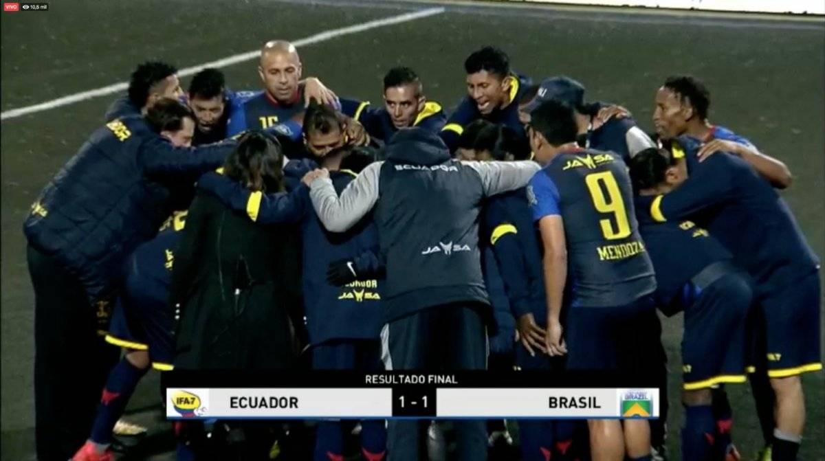 Ecuador es el campeón de la Segunda Edición de la Copa América IFA 7 Twitter