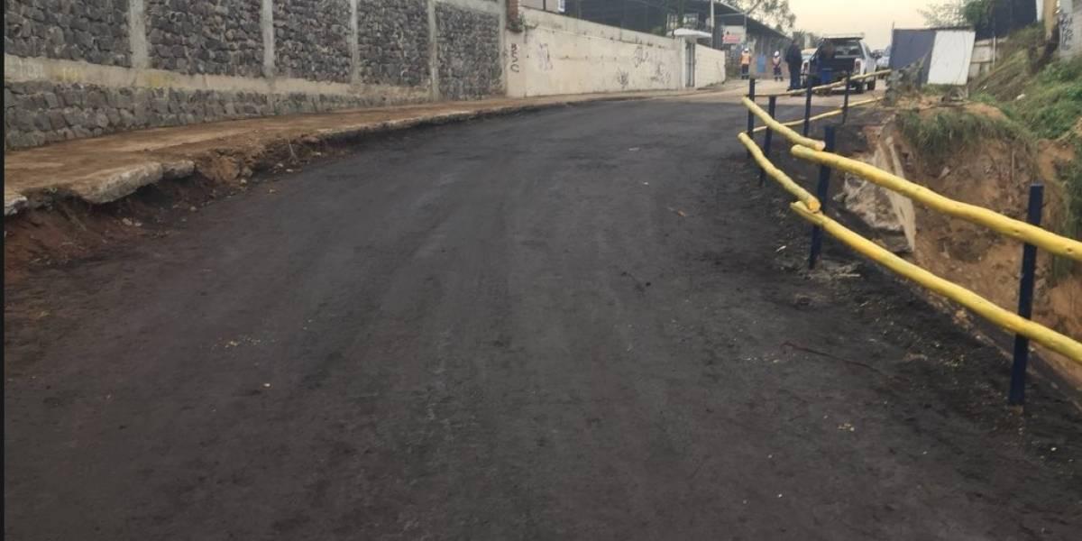 Rehabilitan el puente de la Armenia después de 575 días