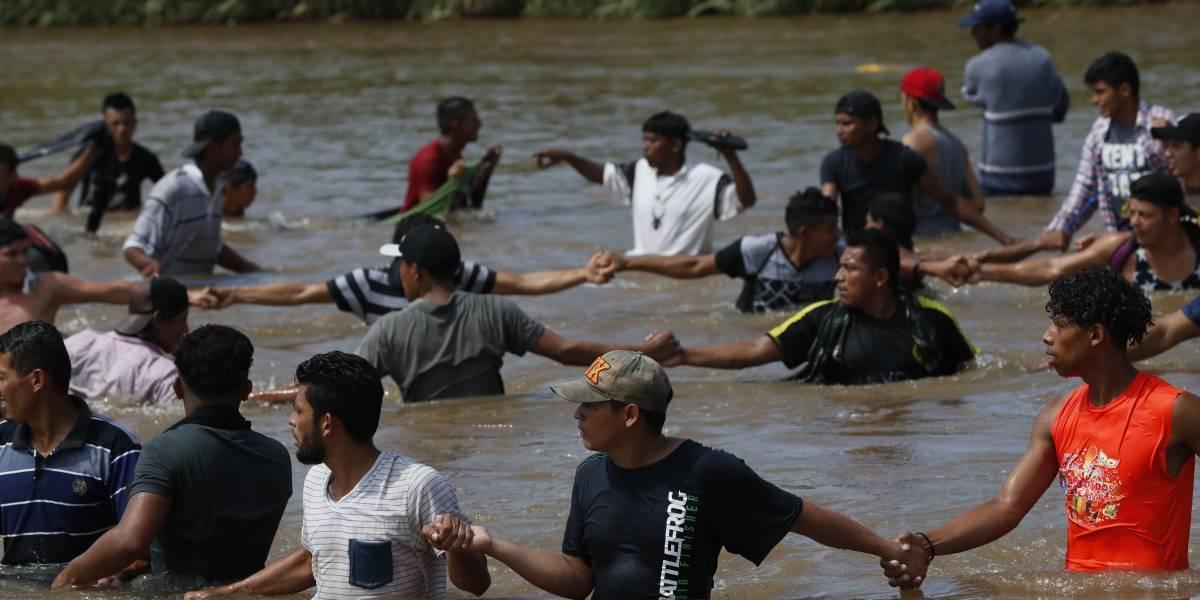 Muere otro migrante de la caravana ahogado en el Río Suchiate