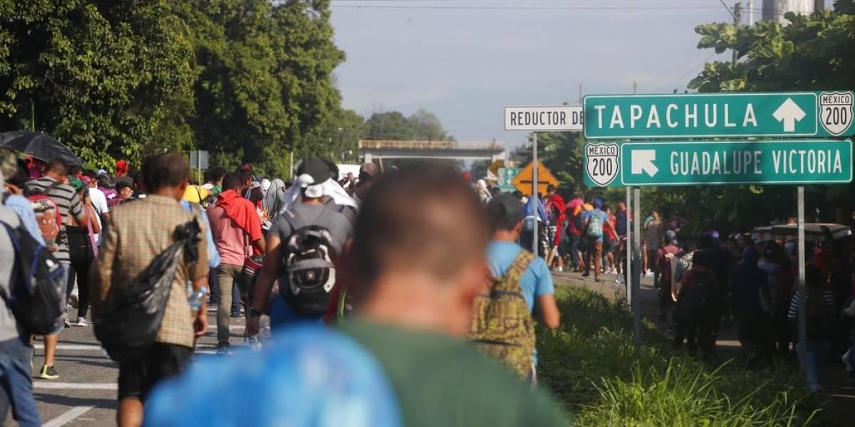 """Migrantes reciben en México primer sueldo del programa """"Estás en tu Casa"""""""