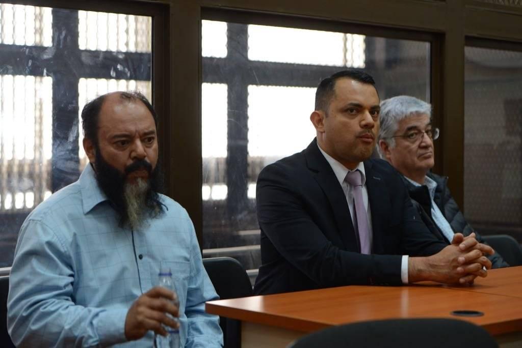Carlos Vielman, Stu Velasco y Víctor Manuel Ruiz fueron capturados este lunes 29 de octubre. Foto: Alejandro García