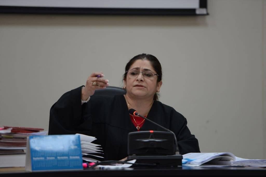Jueza Claudette Domínguez.