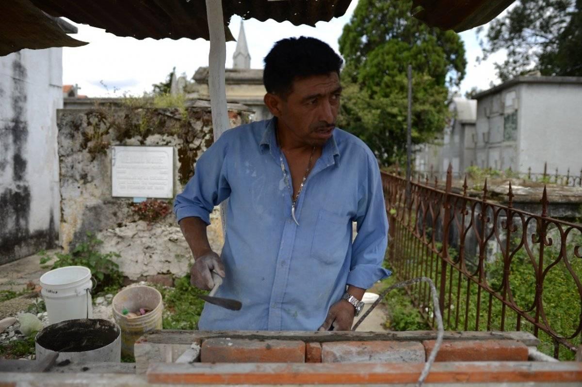 Cementerio General, preparativos para el 1 de noviembre