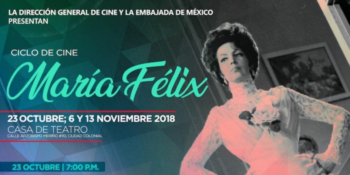"""DGCINE y la Embajada de México realizarán Ciclo de Cine """"María Félix"""""""