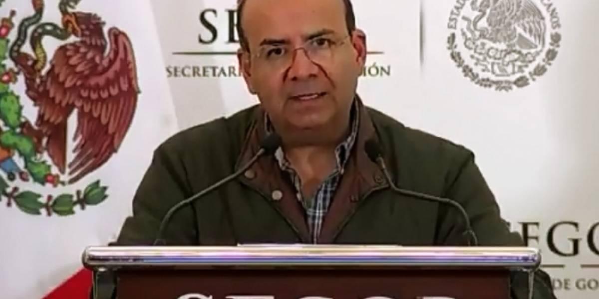 Migrantes que intentaban ingresar a México portaban armas: Segob