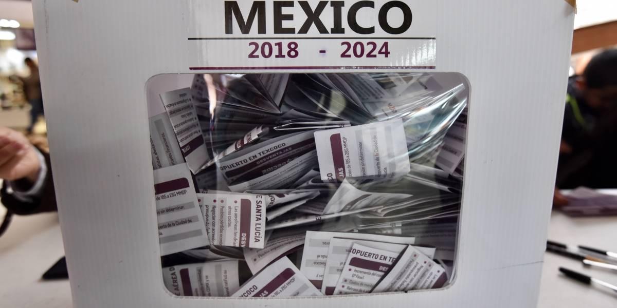 Políticos reaccionan ante cancelación del aeropuerto de Texcoco