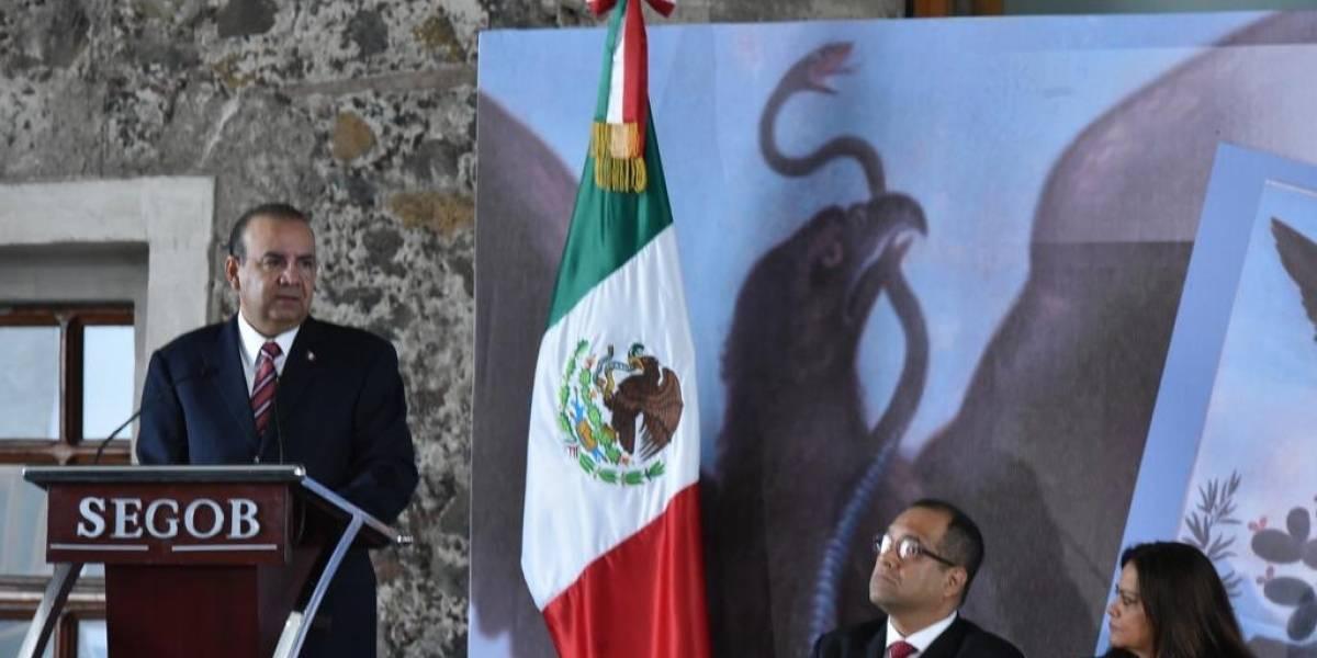 Hay grupos delictivos infiltrados en caravana migrante: Navarrete Prida