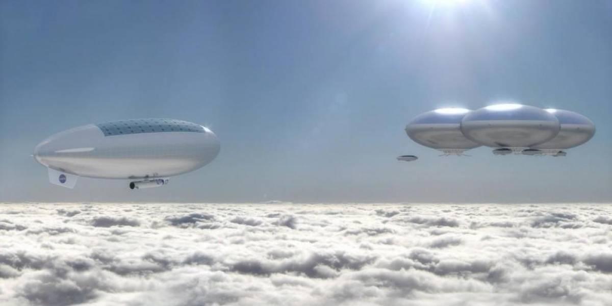 El nuevo sueño de la NASA: quiere enviar a humanos a Venus en dirigibles flotantes