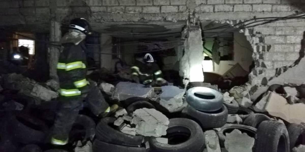Siete heridos tras explosión por acumulación de GLP en la Ciudadela Ibarra, Martha Bucaram