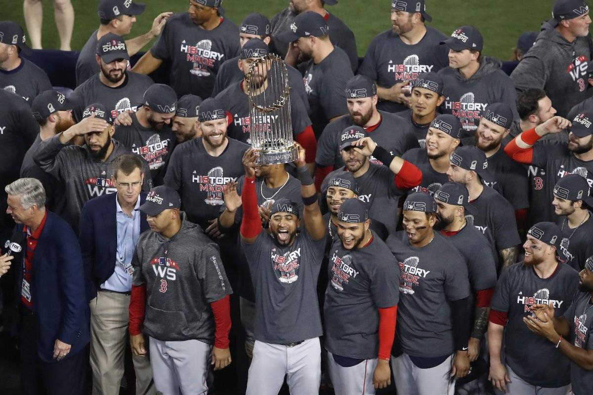 Red Sox, campeón de la Serie Mundial 2018 Getty Images