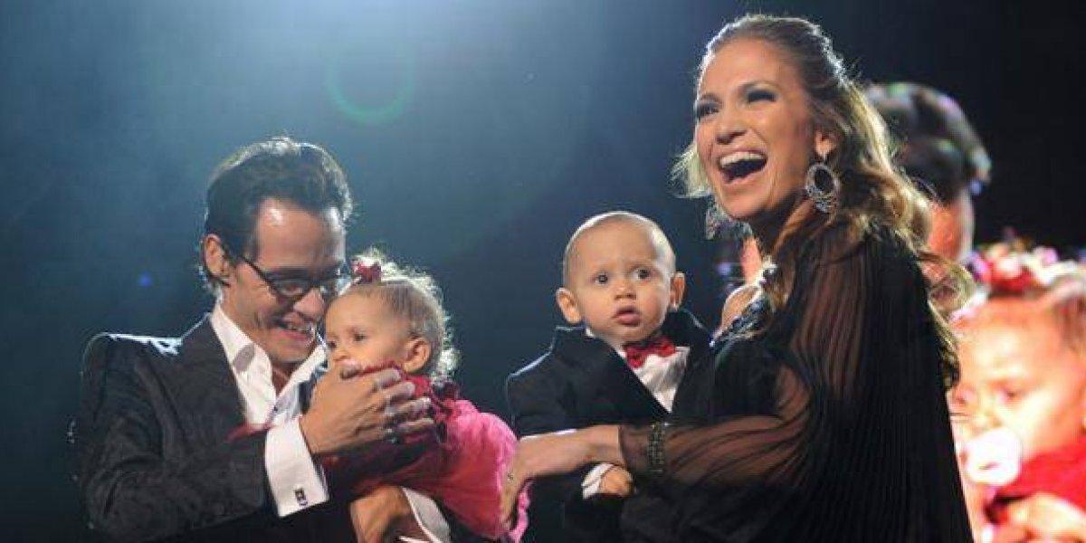 La foto que prueba que el hijo de Jennifer López es idéntico a Marc Anthony