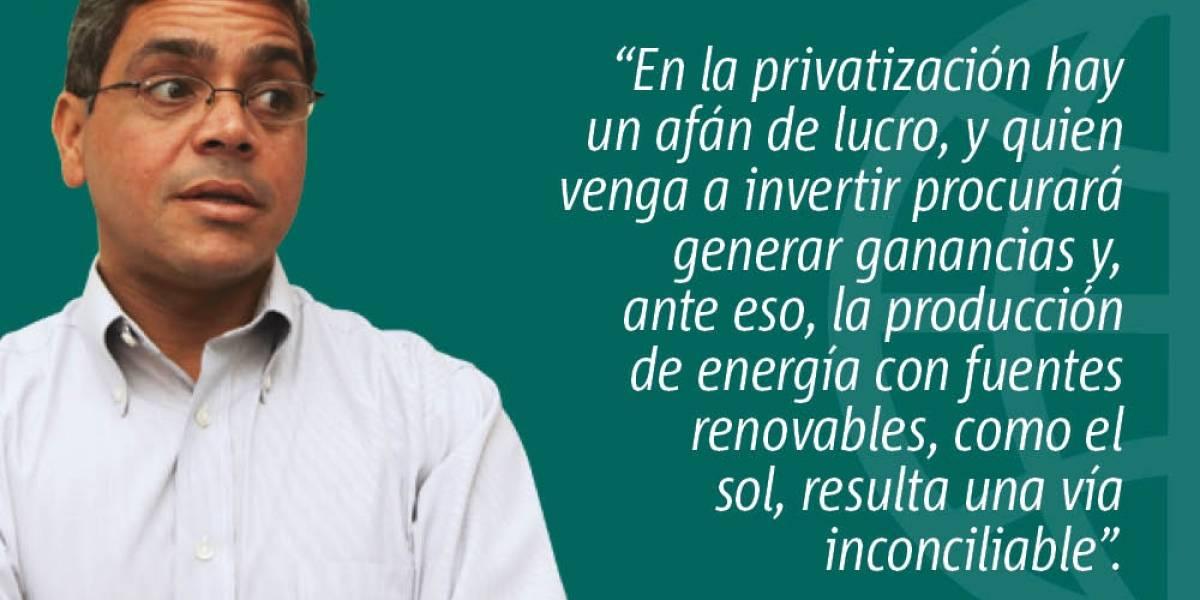 Opinión: Privatización versus energía renovable