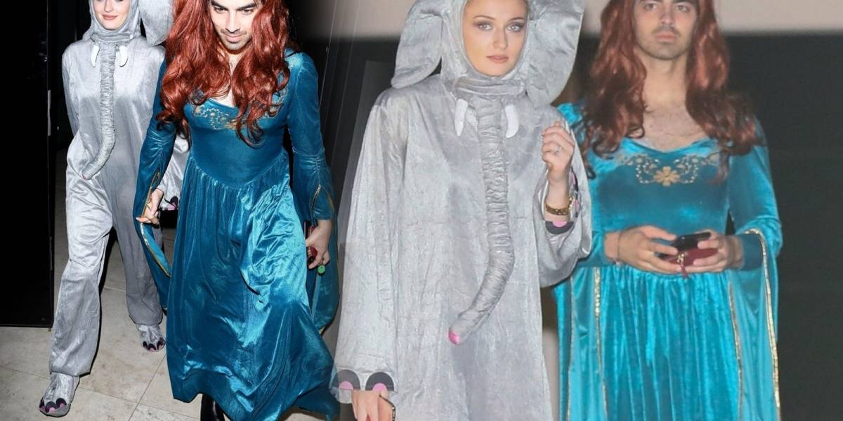 "Joe Jonas se disfraza de Sansa Stark, personaje de ""Game of Thrones"""
