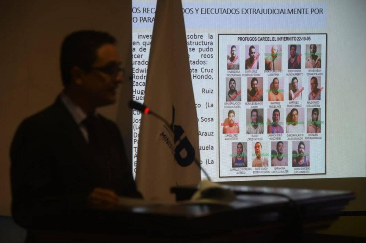 """El fiscal Juan Francisco Sandoval explicó la forma en qué funcionó el """"Plan Gavilán"""". Foto: Edwin Bercián"""