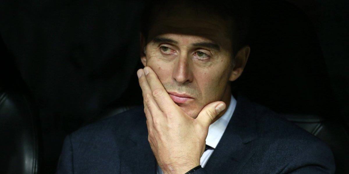 Lopetegui fue el peor DT del Real Madrid durante el mandato de Florentino Pérez
