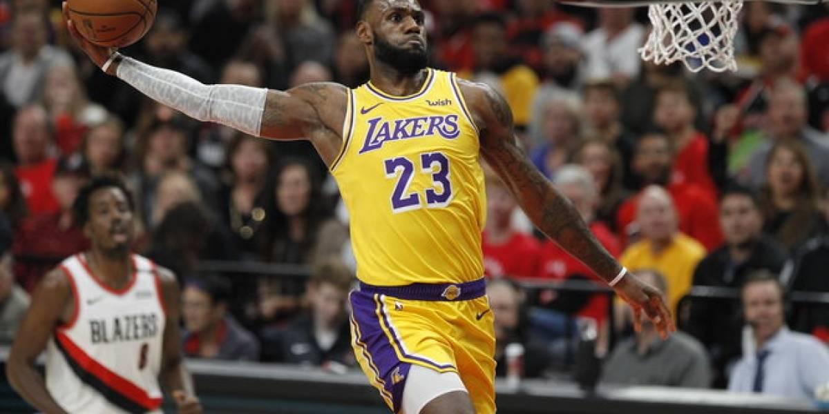 """LeBron a reto de Michael Jordan:  """"Estoy listo"""""""