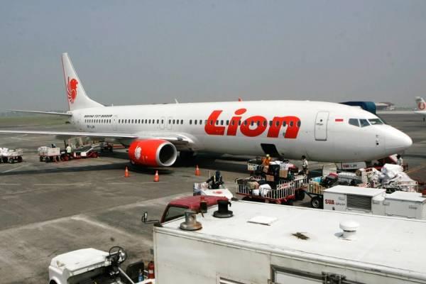 Avión de Lion Air
