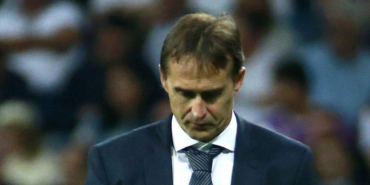Lopetegui habría dirigido su último entrenamiento como DT del Real Madrid